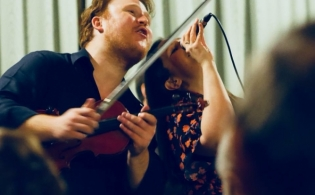 Ben playing Violin